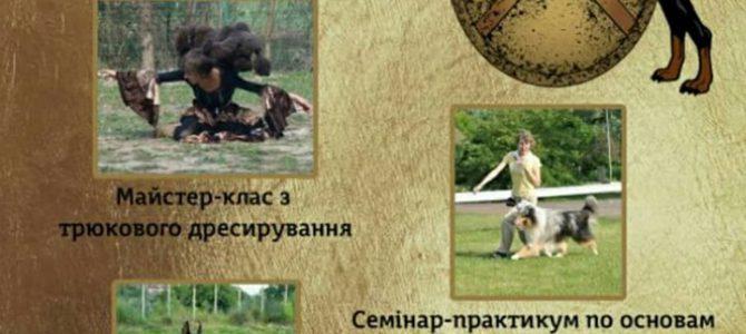 Семинар по трюковой дрессировке и танцам с собакой 2019, г. Черновцы
